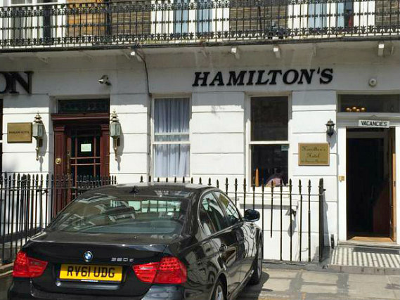 Hamiltons Hotel is situated in a prime location in Paddington close to Madame Tussauds