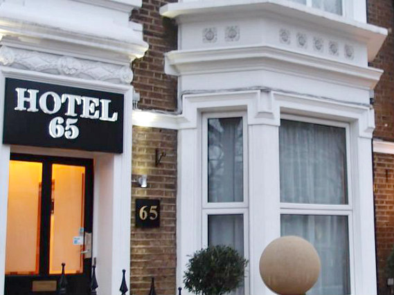 An exterior view of Hotel 65 London