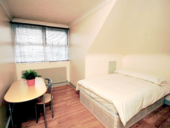 A double room at All Star Hostel London is perfect for a couple