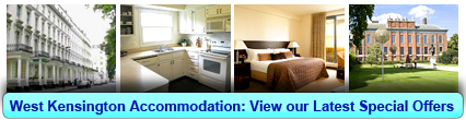 Book London Accommodation in West Kensington