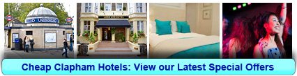 Book Cheap Hotels in Clapham