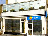 The exterior view of Comfort Inn Edgware Road