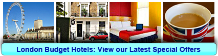 Click here to book a Budget Hotel in London now!