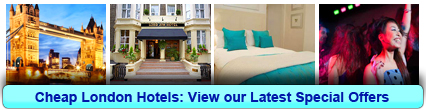 Click here to book Cheap hotel rooms in London now!