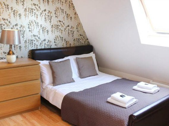 Get a good night's sleep in your comfortable room at Aviva Studios