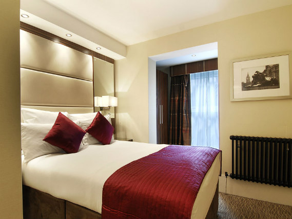 A double room at Grand Royale London is perfect for a couple