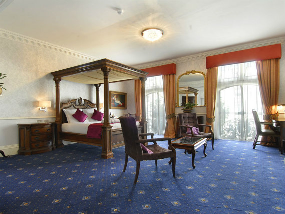 A typical room at Grand Royale London