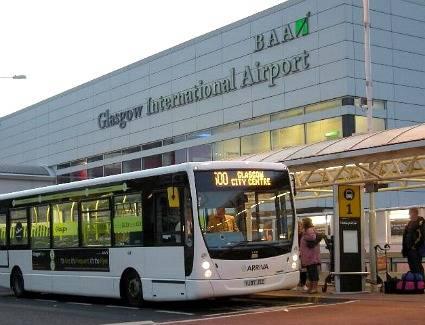 Resultado de imagem para glasgow airport