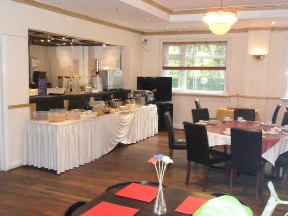 Enjoy a great breakfast at Skyways Hotel