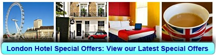 Book London Hotel Special Offers