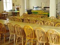 The canteen at Nutford Lodge