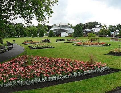 Glasgow Botanic Gardens Parking Garden Ftempo