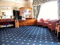 The lounge area at Croydon Court Hotel