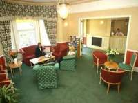 The lobby and reception area at the Croydon Court Hotel