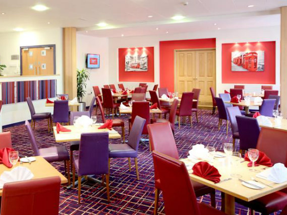 Start your day in the Secret 3 Star Hotel North London Breakfast Room