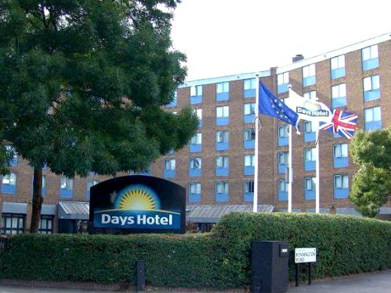 An exterior view of Days Hotel Waterloo