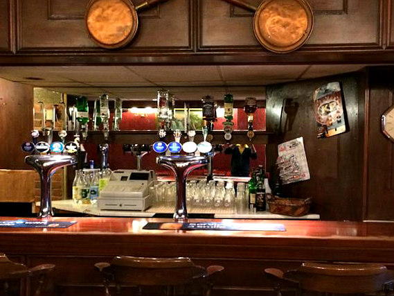 Enjoy a quiet beer on your own or join friends for a fun time at the bar, the hub of the hotel