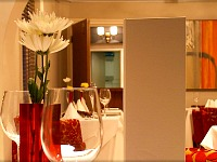 Sample the cuisine at the hotel restaurant