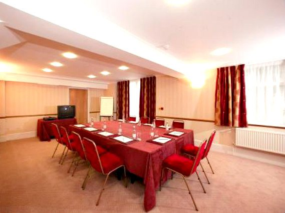 Business guests will appreciate the conference room at The Tudor Lodge