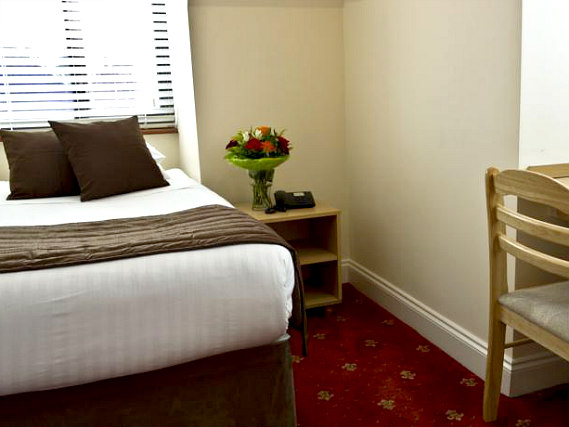 A double room at The Brent Hotel is perfect for a couple