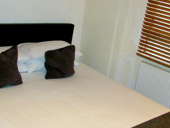 A typical room at Collingham Place Hotel