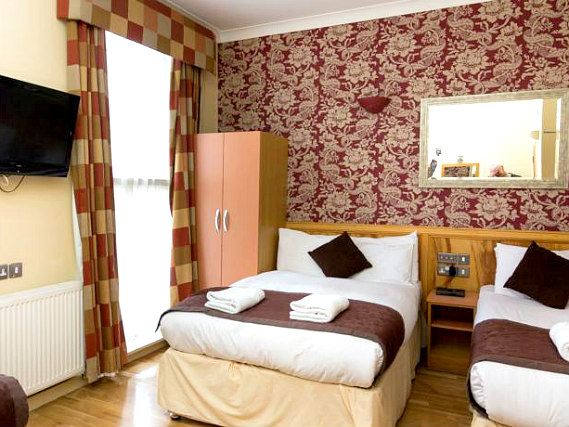 Quad rooms at Albion House Hotel are the ideal choice for groups of friends or families