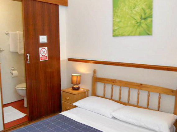 A double room at Hotel Meridiana