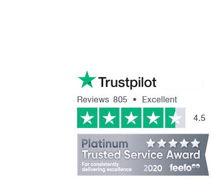 TravelStay.com, voted 'Excellent' by over 5,000 customers in Trustpilot and Feefo