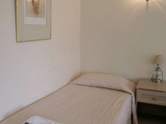 A single room at Brompton Hotel London