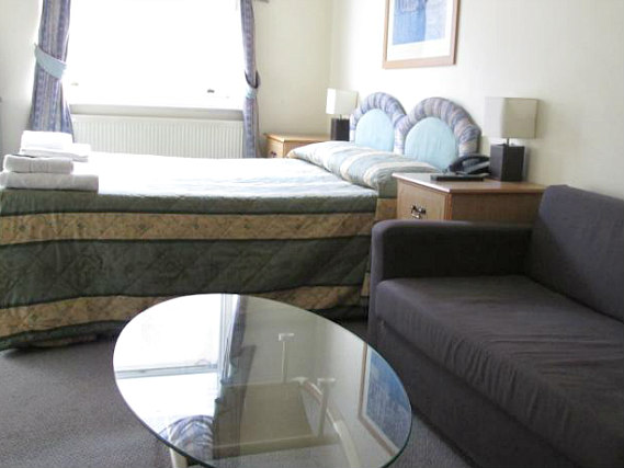 A room at Brompton Hotel London
