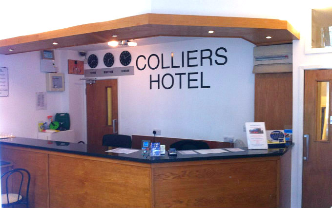 The staff at Colliers Hotel will ensure that you have a wonderful stay at the hotel
