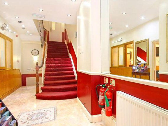 Relax in the stair at St Mark Hotel London