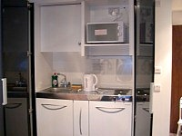 A well equipped kitchenette