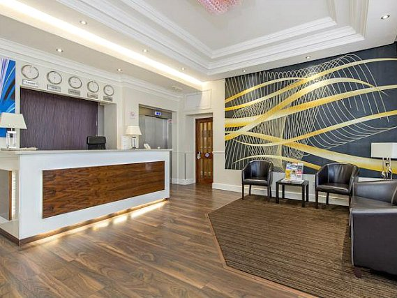 La reception dell'Lidos Hotel