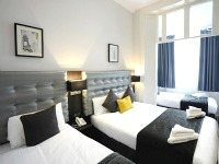 Family rooms at the Airways Hotel are great value for money allowing you to spend more exploring London