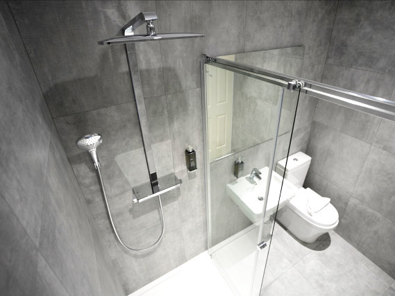 Un bagno dell'Airways Hotel