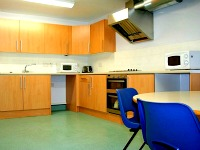 All flats have a good standard communal kitchen