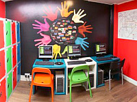 Internet room at Journeys Kings Cross - allowing you to keep in touch with friends or family and surf the net