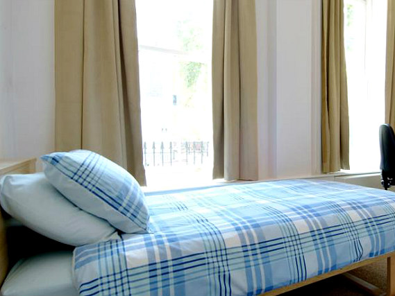 Single rooms at Passfield Hall provide privacy