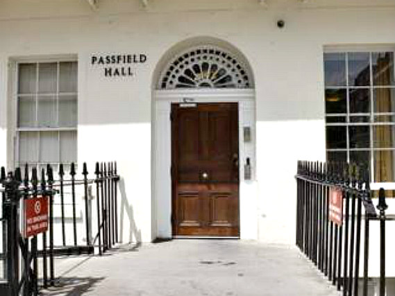 Passfield Hall is situated in a prime location in Bloomsbury close to St Pancras New Church