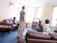 Relax, chat, and make friends in the Common room - there's a great atmosphere here