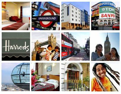 Prenota il Cheap London Hotels