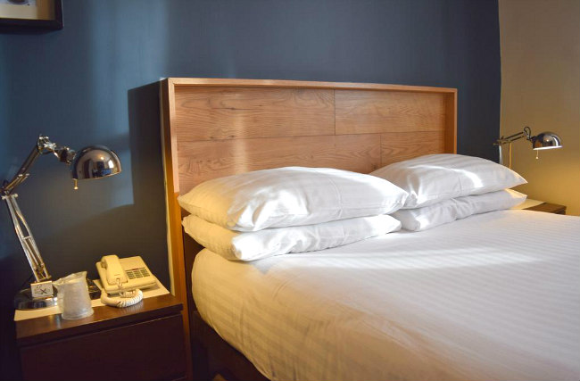 A double room at Griffin House Hotel