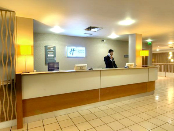 Holiday Inn Express London Limehouse has a 24-hour reception so there is always someone to help
