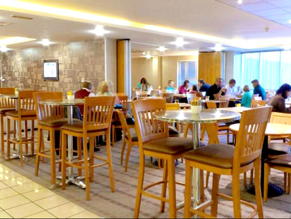 A place to eat at Holiday Inn Express London Limehouse