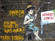 Camden graffiti artist
