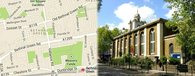 London Tourist Attractions In Bethnal Green