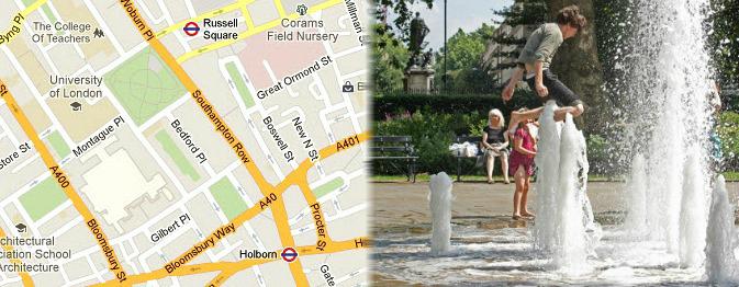 Hotels near Bloomsbury