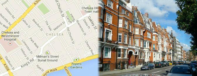 Hotels near Chelsea