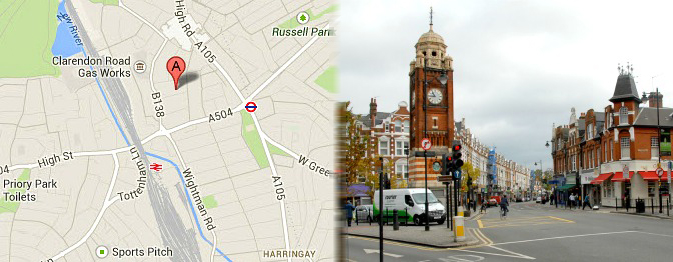 Hotels near Haringey